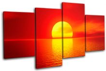 Stunning Sunset Seascape - 13-1036(00B)-MP04-LO